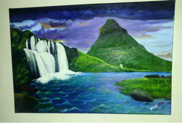 Used Lovely Nature Painting (Water)😍 in Dubai, UAE