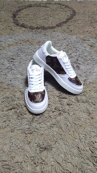 Used Louis Vuitton shoes size 38 new in Dubai, UAE