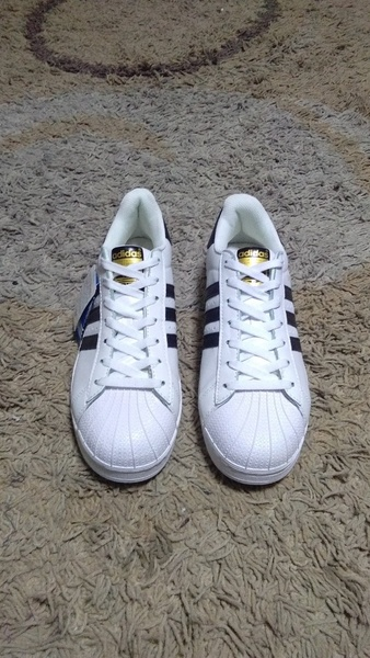 Used Adidas Superstar shoes size 45 new in Dubai, UAE