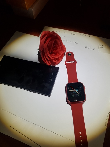 Used MO06 SMARTWATCH NOW 2021 RED ELE1 in Dubai, UAE