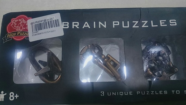 Used Educational play thing brain puzzle new in Dubai, UAE