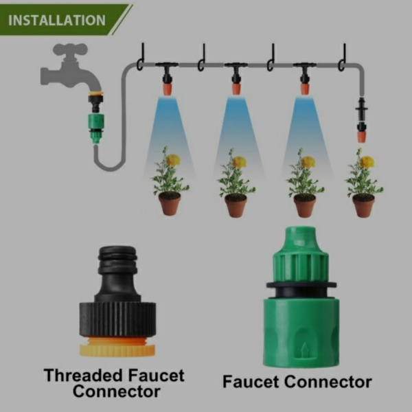 Used Garden Water Misting System (2 Pieces) in Dubai, UAE