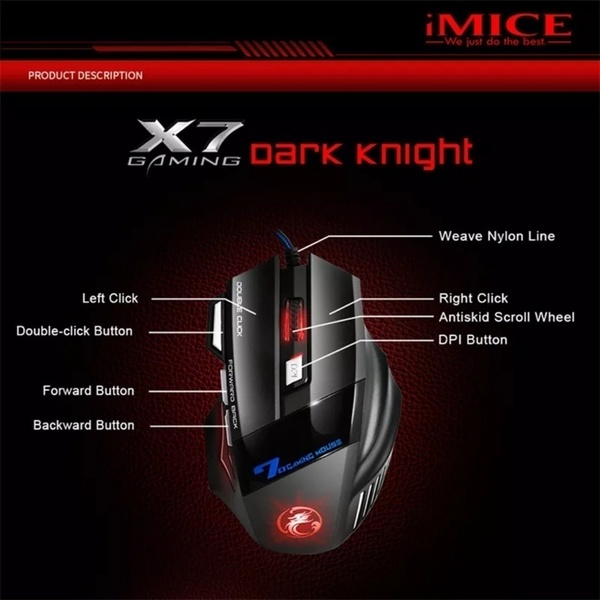 Used Black and blue professional gaming mouse in Dubai, UAE
