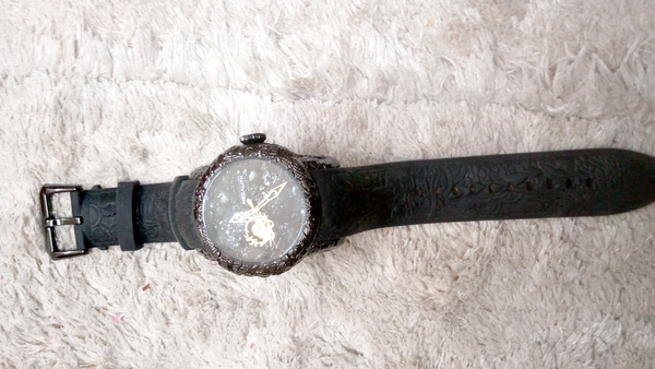 Used Megalith sculpture watch in Dubai, UAE
