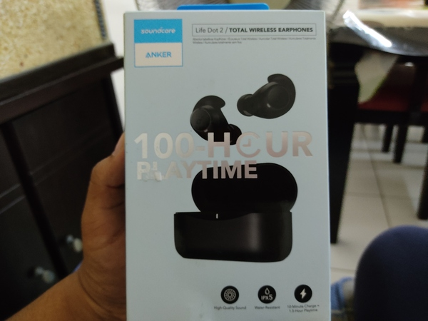Used ANKER SOUNDCORE DOT 2 BLUETOOTH EARBUDS in Dubai, UAE