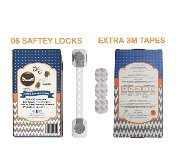 Used DXC Baby safety locks adjustable locks in Dubai, UAE