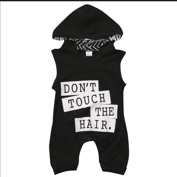 Used Don't Touch My Hair Summer Baby Rompers in Dubai, UAE