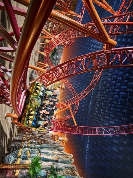 Used IMG worlds of Adventure tickets/ CHEAP!! in Dubai, UAE