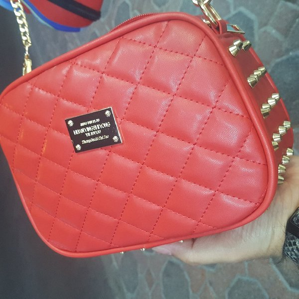 Used Funky Leather Wallet with Studs in Dubai, UAE