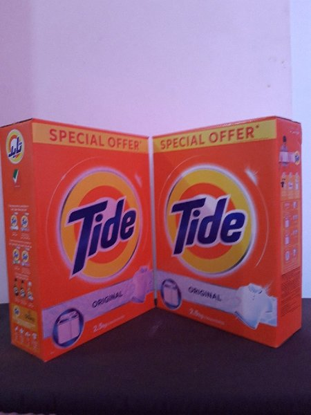 Used Tide 2.5kg (2pices in Dubai, UAE