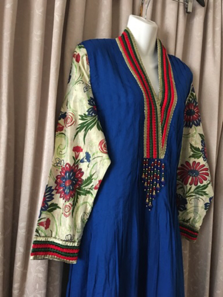 Used Long dress size M in Dubai, UAE
