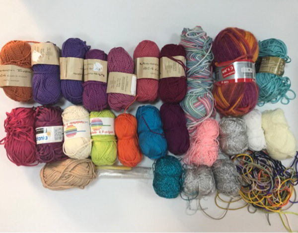 Used Collection of Wool and Mixed Threads in Dubai, UAE