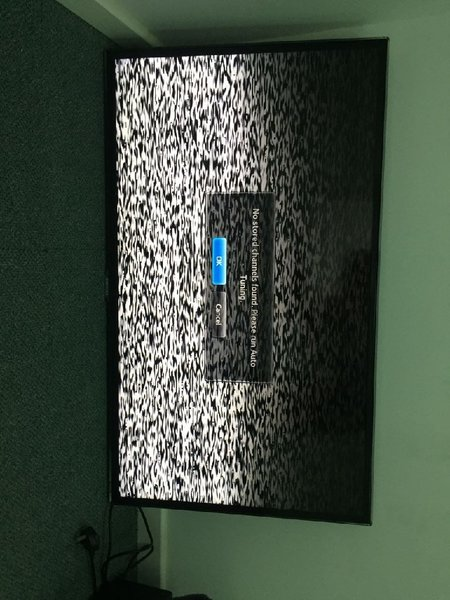 "Used 46"" Samsung Full HD. Screen dim damage in Dubai, UAE"