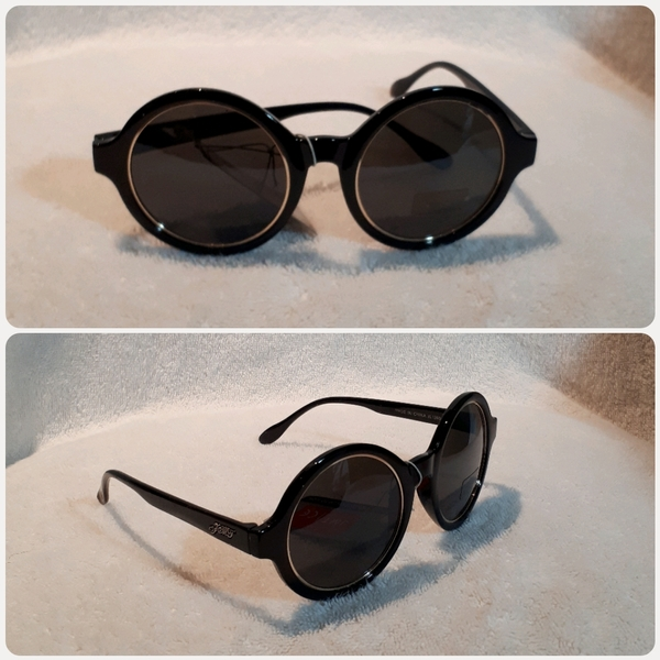 "Used Black round Sungglass for Lady "" in Dubai, UAE"