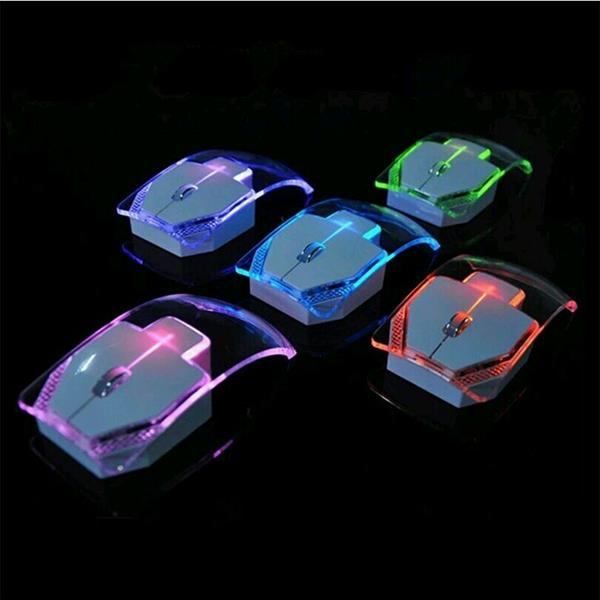 Used lighting wireless mouse. in Dubai, UAE