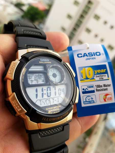 Used CASIO Sports Watch▪︎10Yr LIFE ✔Original in Dubai, UAE