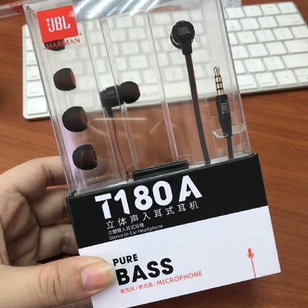 Used Brand New JBL T180 Earphones Black in Dubai, UAE
