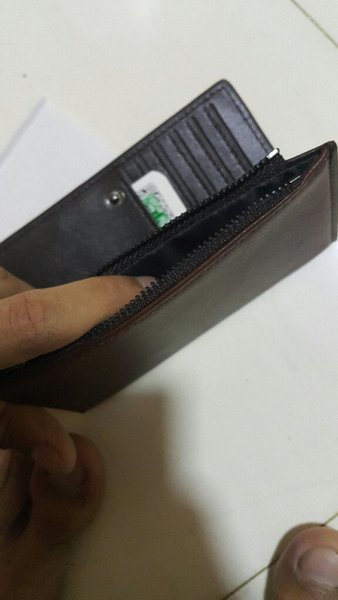 Used Montbanc brown wallet for men in Dubai, UAE