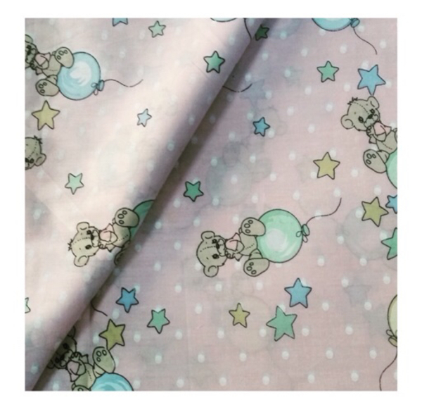 Used Cute Balloon Cotton Fabric in Dubai, UAE