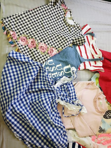 Used Mix clothes size 2-3 years old in Dubai, UAE