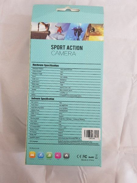 Used 4k untra hd sport dv wifi action camera in Dubai, UAE