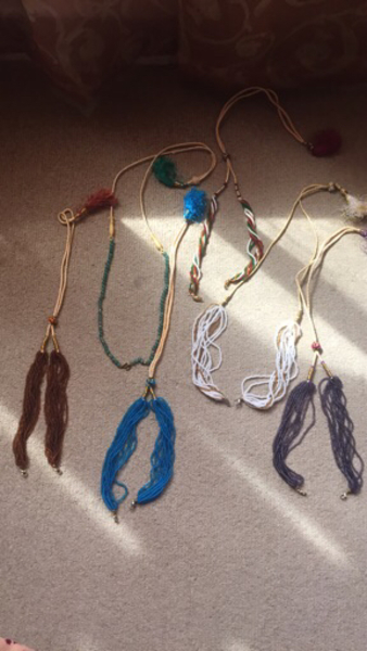 Used Colorful chains to attach on pendants  in Dubai, UAE