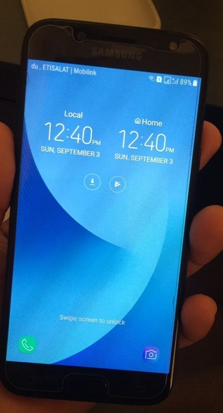 Used Samsung J5 Pro 15 Days Used With All Accessories  in Dubai, UAE
