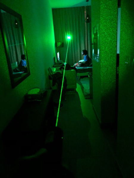 Used Powerful green laser in Dubai, UAE