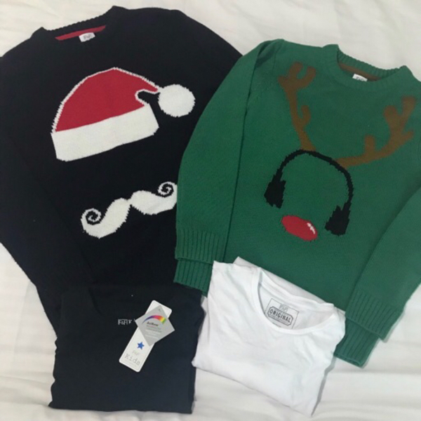 Used Boys Jumpers and T-shirts F&F 10yrs in Dubai, UAE