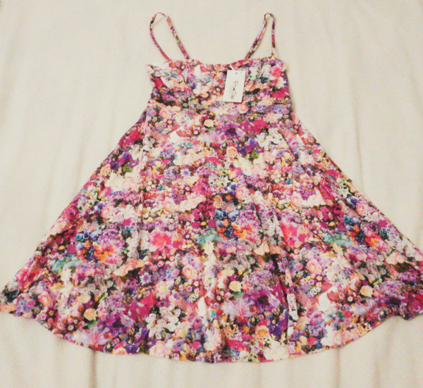 Used Floral Lila Prime Days Dress in Dubai, UAE
