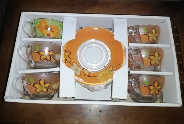 Used Cup and saucer new. in Dubai, UAE