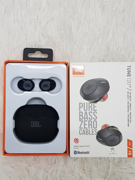 Used New model JBL Earbuds pure bass ♡ in Dubai, UAE