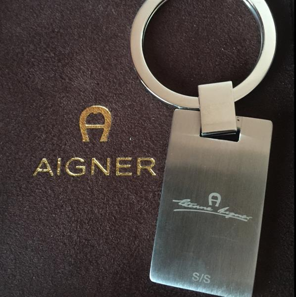 Aigner Keyring, New In Original Packing