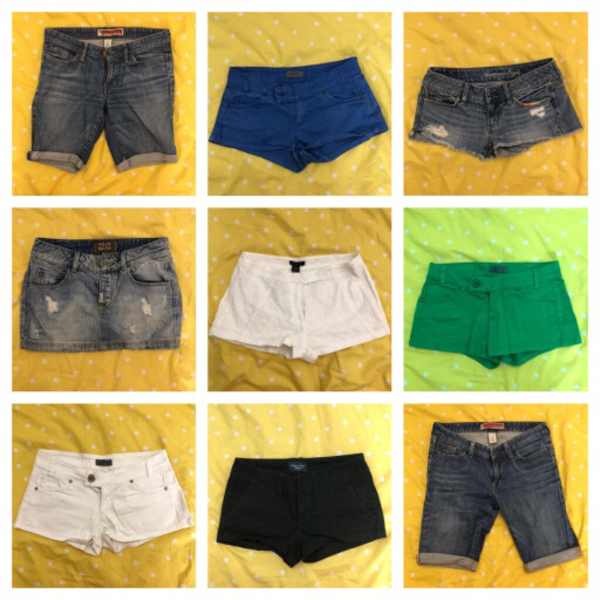 Used 15 pieces shorts branded  in Dubai, UAE
