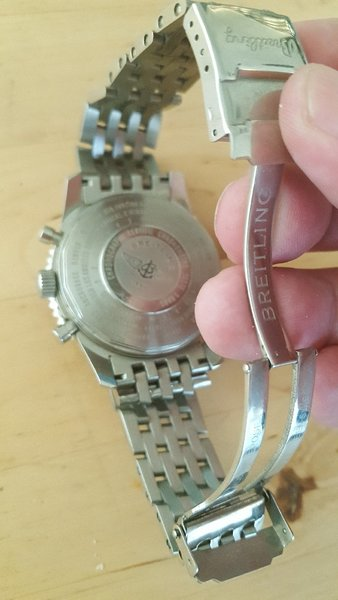 Used Breitling Cromometre automatic good copy in Dubai, UAE