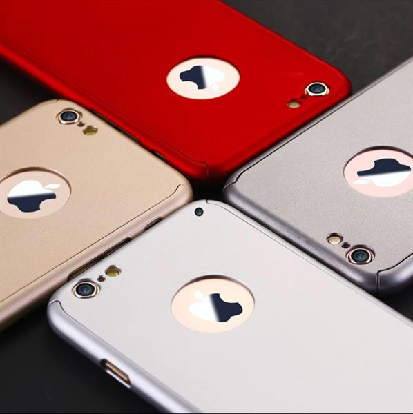 Used Floveme Luxury 360degree Full Body Protection Cover ..Iphone 6...silver Colour in Dubai, UAE