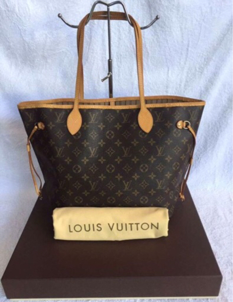 Used Authentic Louis Vuitton MM Neverfull Bag in Dubai, UAE