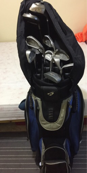 Used Golf Set with Carry Case in Dubai, UAE
