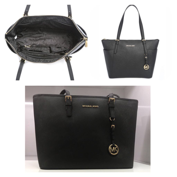 cdff66b52 Used Brandnew And Authentic Michael Kors Bag, Black Color, With Dustbag,  Authenticity Card