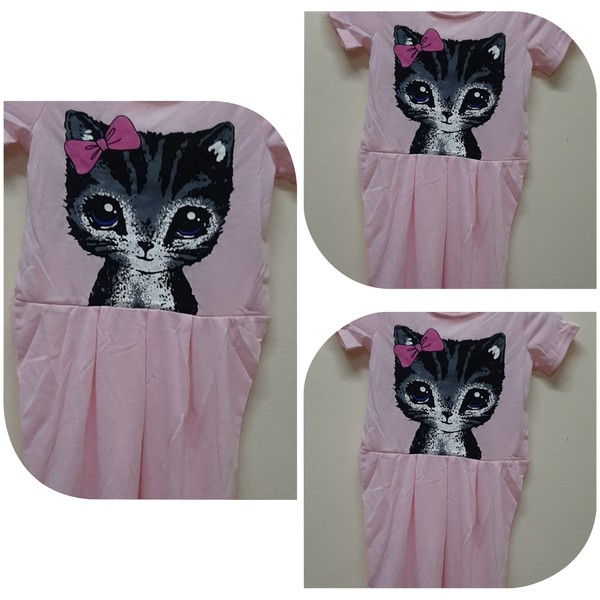 Used 3 pcs of kids dresses 130 cm in Dubai, UAE