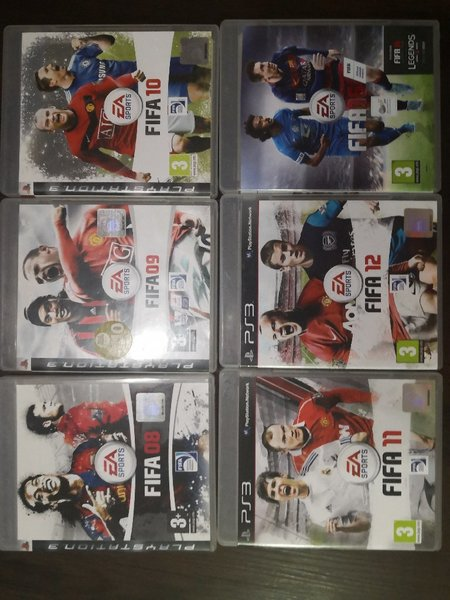 Used Ps3 fifa games collection in Dubai, UAE