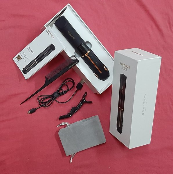 Used Pritech USB cordless hair straightener! in Dubai, UAE
