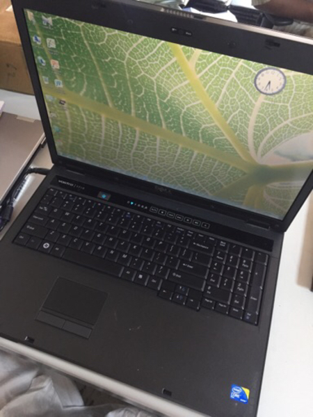 "Used Dell 17"" Laptop without Battry in Dubai, UAE"