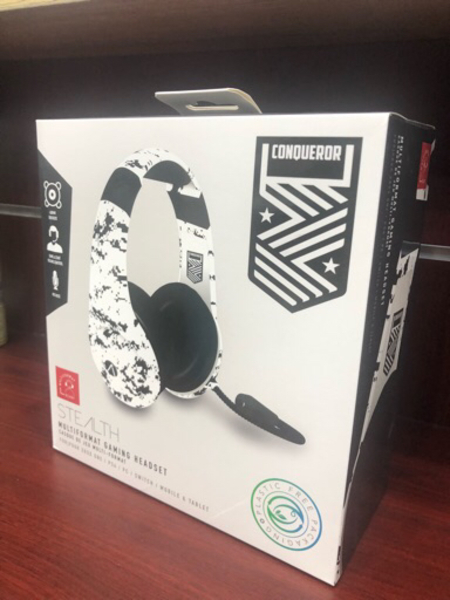 Used Multi Format Camo Stereo Gaming headset in Dubai, UAE
