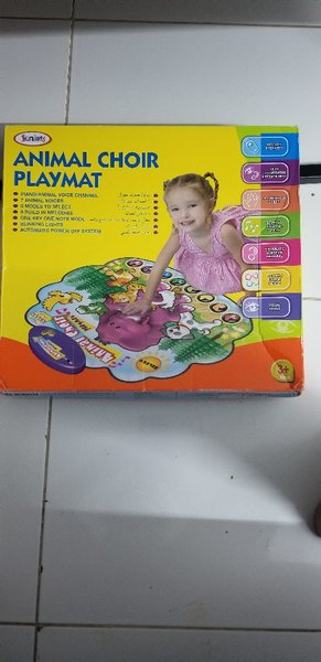 Used Baby playing mat from Juniors with sound in Dubai, UAE