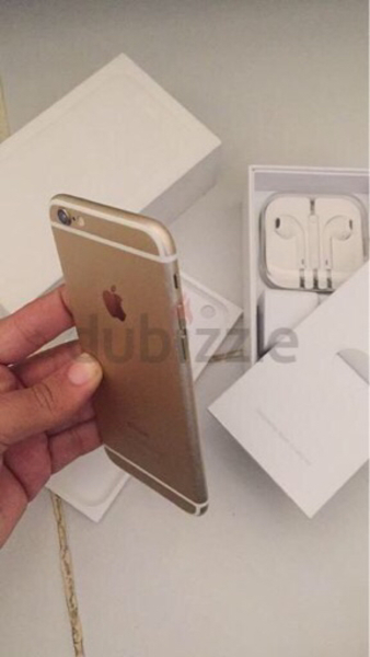 iPhone 6 64gb 4g LTE Gold with FaceTime.