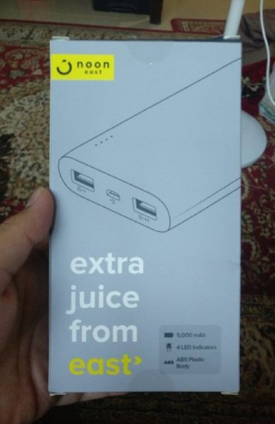 Used New Noon east power bank 5,000mah in Dubai, UAE