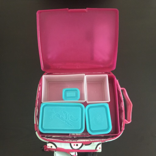 Used Bentology lunchbox with insulated tote in Dubai, UAE