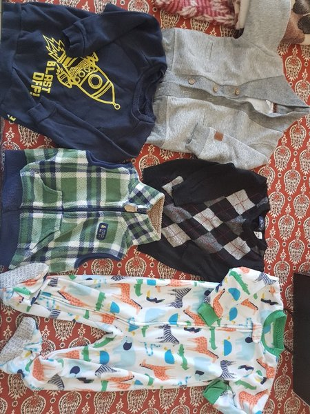 Used Branded winter clothes in Dubai, UAE