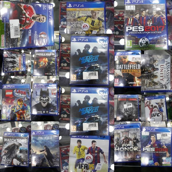 Used USED PS4 GAMES in Dubai, UAE